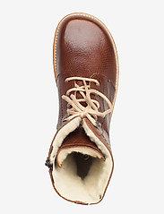 ANGULUS - Boots - flat - with laces - talon bas - 2509 cognac - 3