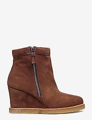 ANGULUS - Boots - wedge - bottes d'hiver - 1166 cognac - 1