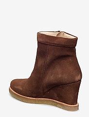 ANGULUS - Boots - wedge - bottes d'hiver - 1166 cognac - 2
