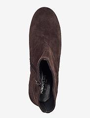 ANGULUS - Bootie - block heel - with zippe - stiefeletten mit absatz - 2193/2487 brown/copper glit - 3