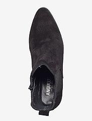 ANGULUS - Booties - Block heel - with elas - stiefeletten mit absatz - 1163/019 black/black - 3