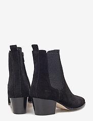 ANGULUS - Booties - Block heel - with elas - stiefeletten mit absatz - 1163/019 black/black - 4