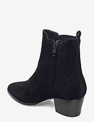 ANGULUS - Booties - Block heel - with elas - stiefeletten mit absatz - 1163/019 black/black - 2