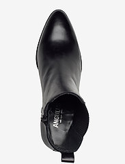 ANGULUS - Booties - Block heel - with elas - ankelstøvler med hæl - 1835/019 sort/sort - 3