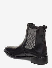 ANGULUS - Booties - flat - with elastic - chelsea støvler - 1835/044 black/checked - 2