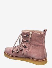 ANGULUS - Boots - flat - with laces - flache stiefeletten - 2194/2019 powder/ beige lambwo - 2