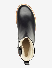 ANGULUS - Boots - flat - with zipper - flache stiefeletten - 1604 black - 3