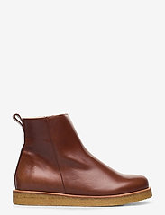 ANGULUS - Boots - flat - with laces - flade ankelstøvler - 1837 brown - 1
