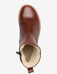 ANGULUS - Boots - flat - with zipper - flache stiefeletten - 1837 brown - 3