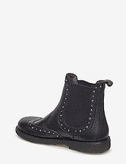 ANGULUS - Booties - flat - with elastic - laarzen - 1933/019 black/black - 2