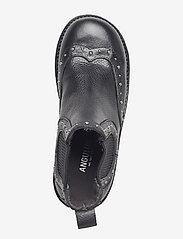 ANGULUS - Booties - flat - with elastic - laarzen - 1933/019 black/black - 3