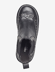 ANGULUS - Booties - flat - with elastic - stiefel - 1933/019 black/black - 3