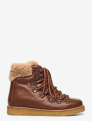 ANGULUS - Boots - flat - with laces - flade ankelstøvler - 2509/2030 cognac/light brown - 1