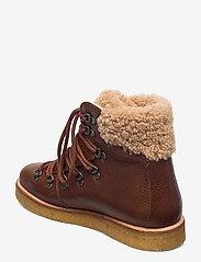 ANGULUS - Boots - flat - with laces - flade ankelstøvler - 2509/2030 cognac/light brown - 2