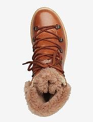 ANGULUS - Boots - flat - with laces - platte enkellaarsjes - 1838/2019 cognac/cognac lamb w - 3