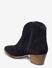 ANGULUS - Booties - Block heel - with elas - stiefeletten mit absatz - 1163 black - 2