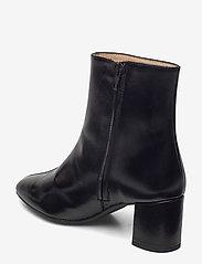 ANGULUS - Bootie - block heel - with zippe - stiefeletten mit absatz - 1835 black - 2