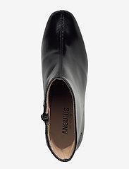 ANGULUS - Bootie - block heel - with zippe - stiefeletten mit absatz - 1835 black - 3
