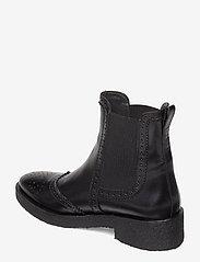 ANGULUS - Booties - flat - with elastic - chelsea støvler - 1835/001 black/black - 2