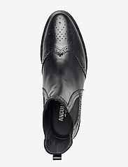 ANGULUS - Booties - flat - with elastic - chelsea støvler - 1835/001 black/black - 3