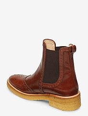 ANGULUS - Booties - flat - with elastic - chelsea støvler - 1837/002 brown/dark brown - 2