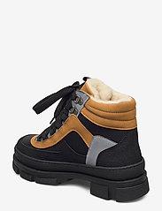 ANGULUS - Boots - flat - flade ankelstøvler - 1321/1631/1262/2012 sort/sort/ - 2