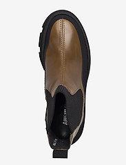 ANGULUS - Boots - flat - flade ankelstøvler - 1321/1841/019  black/d. oliven - 3