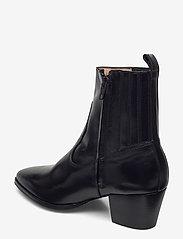 ANGULUS - Booties - Block heel - with elas - stiefeletten mit absatz - 1835/001 black/black - 2