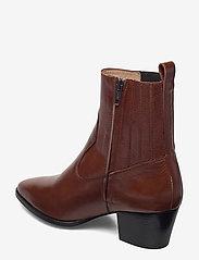 ANGULUS - Booties - Block heel - with elas - stiefeletten mit absatz - 1837/002 brown/dark brown - 2