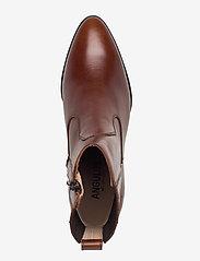 ANGULUS - Booties - Block heel - with elas - stiefeletten mit absatz - 1837/002 brown/dark brown - 3