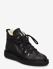 ANGULUS - Boots - flat - with laces - flat ankle boots - 2100 black - 0