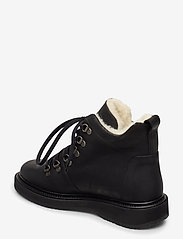 ANGULUS - Boots - flat - with laces - flat ankle boots - 2100 black - 2