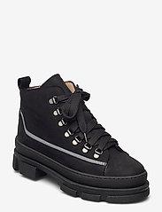 ANGULUS - Boots - flat - flache stiefeletten - 1205/2012/1205 black/reflex/bl - 0
