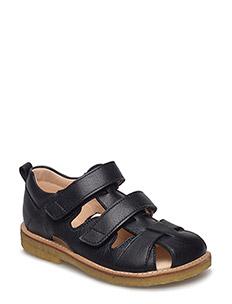 Sandal with velcro closure - 1933 BLACK