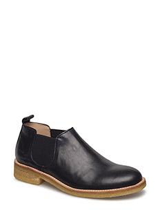Shoes - flat - with elastic - 1604/001 BLACK/BLACK