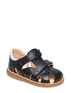 Sandals - flat - 1604/1521 BLACK/WHITE