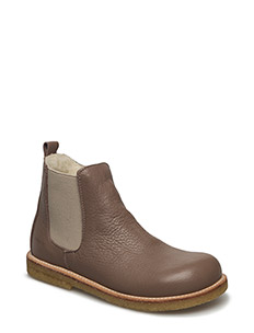 Boots - flat - zipper - 1925/010 ST?VET ROSA BRUN/BEIG