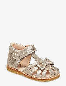 Sandals - flat - 2424 SILVER GLITTER