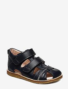 Sandals - flat - closed toe -  - sandalen - 1530 navy