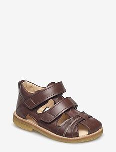 Sandals - flat - closed toe -  - sandalen - 1562 angulus brown