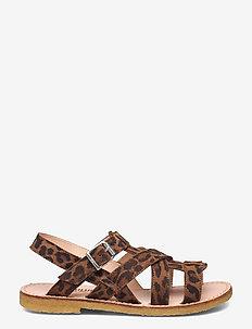Sandals - flat - open toe - op - sandaler - 2164 leopard