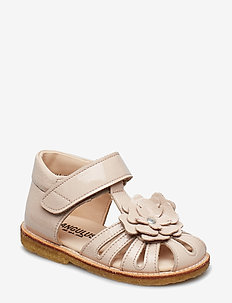 Sandals - flat - sandalen - 2334 powder