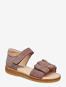 Sandals - flat - open toe - clo - sandals - 2202 dusty lavender