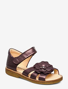 Sandals - flat - open toe - clo - sandaler - 1309 lavender shine