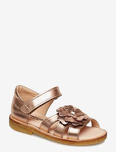 Sandals - flat - open toe - clo - sandals - 1311 rose copper