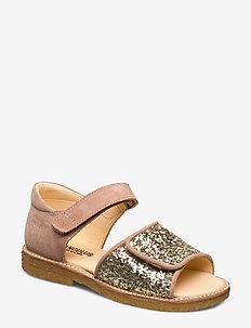 Sandals - flat - 2198/2489 BLUSH/CHAMPAGNE GLIT