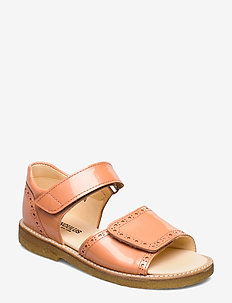 Sandals - flat - open toe - clo - 2355 PEACH