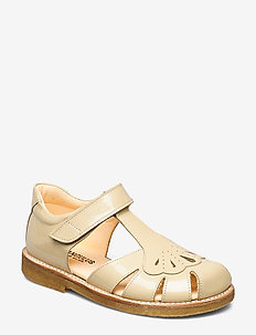 Sandals - flat - closed toe -  - sandals - 2353 pale yellow