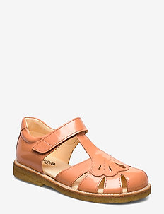 Sandals - flat - closed toe -  - sandalen - 2355 peach