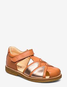 Sandals - flat - closed toe -  - 2641/1311 PEACH/ROSE COPPER